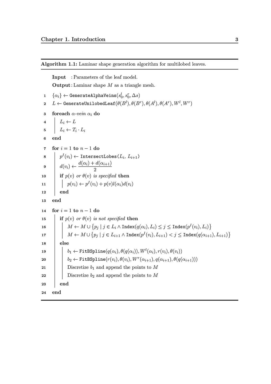 SPhdThesis: Algorithm